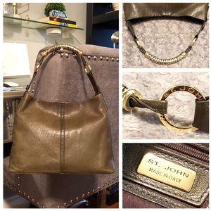 ST. John handbag paid $850 Butter soft leather